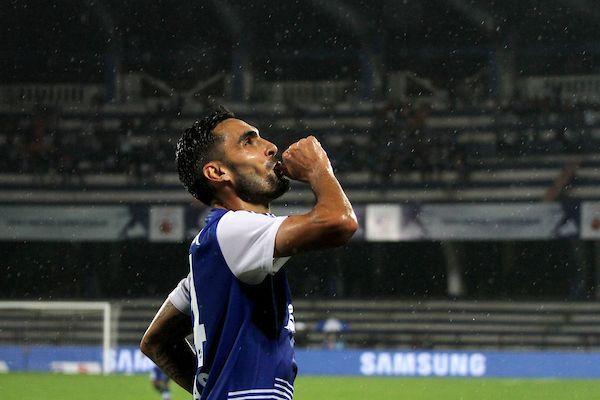 Dimas Delgado Bengaluru FC goal FC Goa