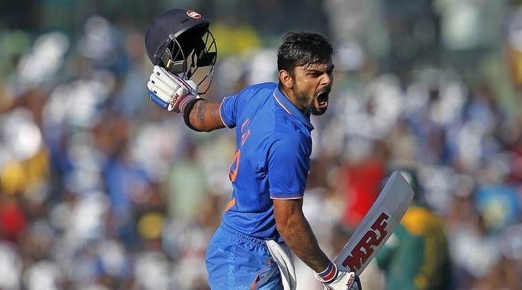 The Century that helped India level the series.