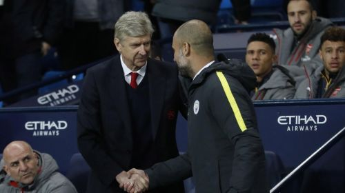 Image result for arsene wenger vs guardiola