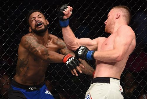 Justin Gaethje's UFC career kicked off with an impressive win over Michael Johnson