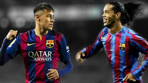Image result for Neymar Ronaldinho