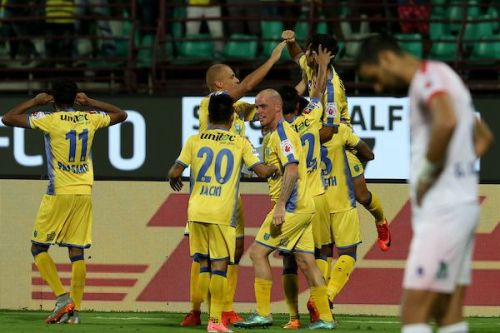 Kerala Blasters are still not out of semifinal contention. (Photo: ISL)