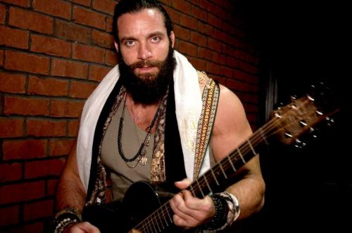 Elias seems to be calm & composed ahead of his Elimination Chamber Match
