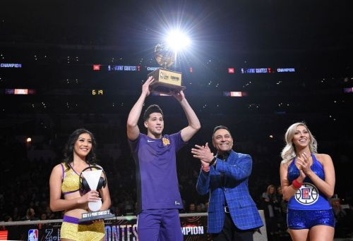Devin Booker - Winner of the JBL 3-point contest