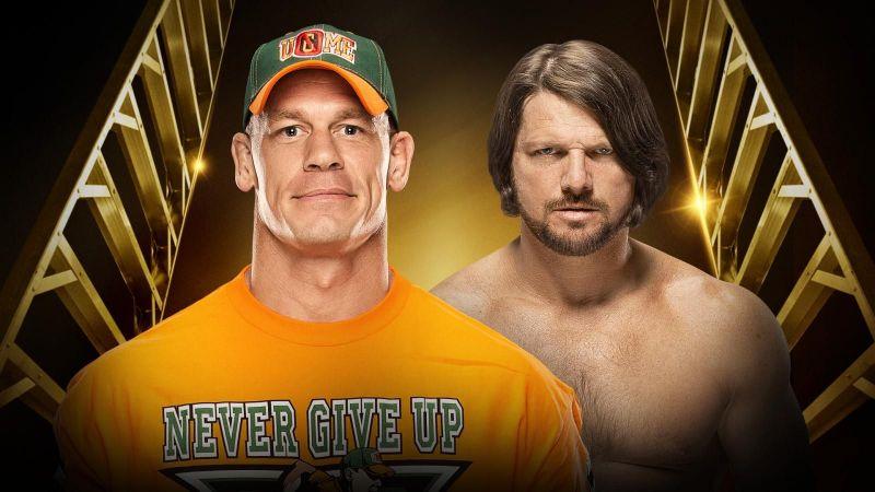 John Cena has won Money in the Bank Ladder Match in 2012