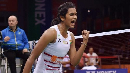 P.V. Sindhu reached her second successive India Open final on Sunday.