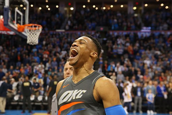Russell Westbrook holds the record for most triple-doubles in an NBA regular season