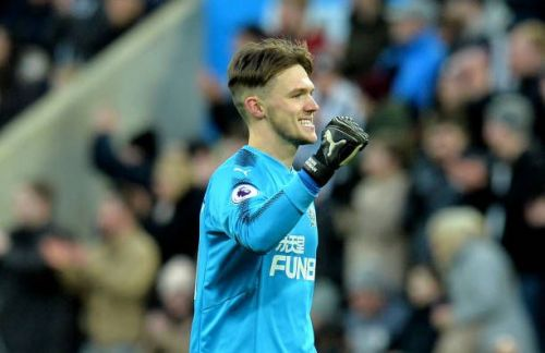 World Cup winner: Woodman made his Newcastle debut last month but has gone on-loan in search of first-team action