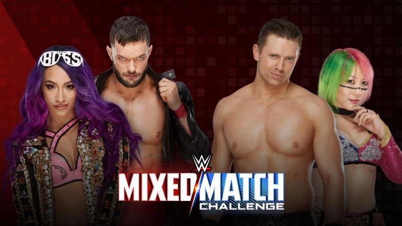 WWE Mixed Match Challenge Results: Finn Balor and Sasha