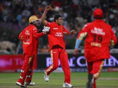 Kumble's remarkable spell was not enough for an RCB victory