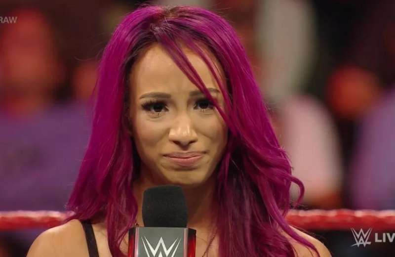 Find out what made Sasha Banks break down in tears