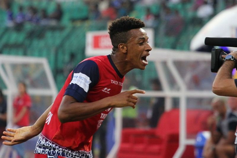 Wellington Priori scored once more for Jamshedpur [Photo: ISL]