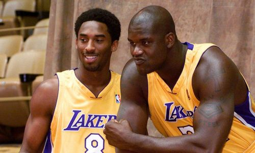 Kobe Bryant and Shaquille O'Neal were the superstar duo around which the Lakers won three straight titles