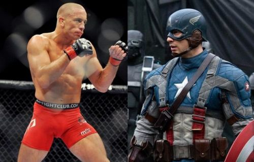GSP vs Captain America has already happened!