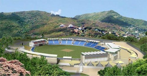 Image result for st lucia cricket stadium