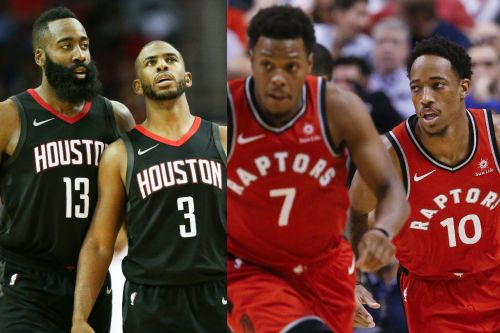 Will the NBA Finals be the Rockets vs. the Raptors?