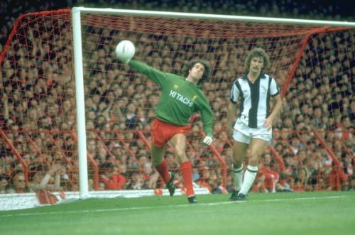 Liverpool Goalkeeper Ray Clemence