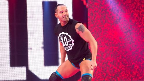 Tye Dillinger features in the pre-SmackDown Live dark match