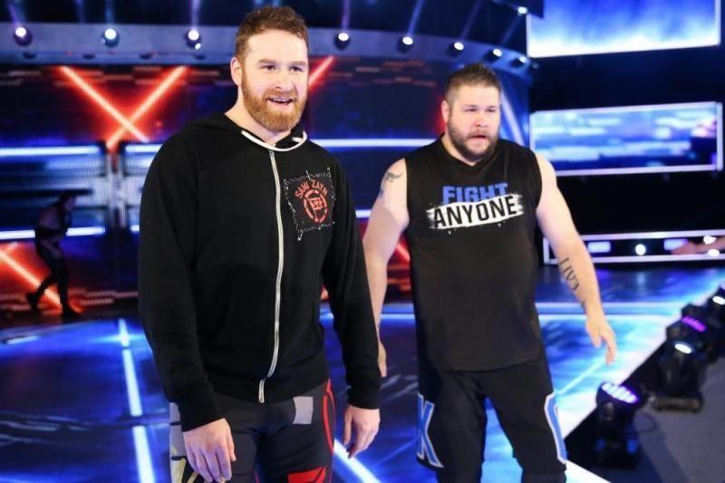 Kevin Owens and Sami Zayn SmackDown