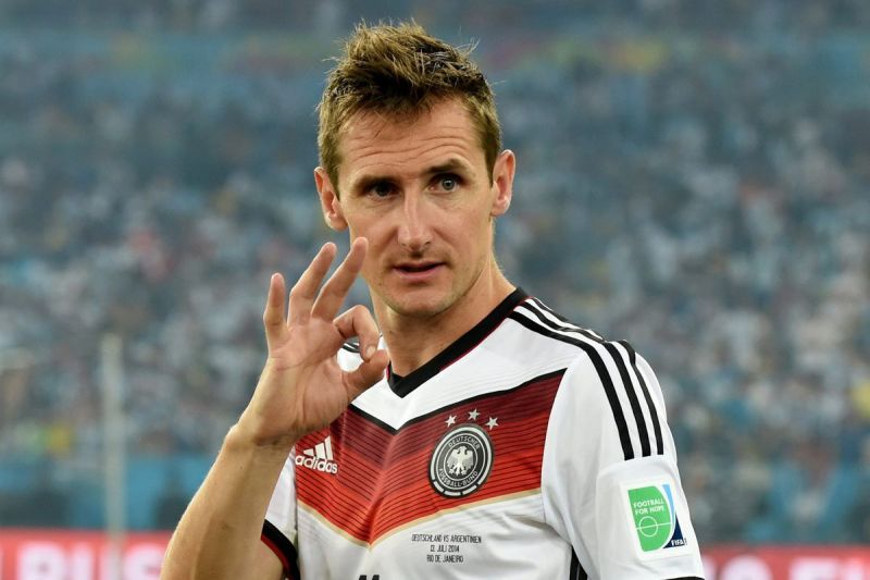 Miroslav Klose won the World Cup with Germany
