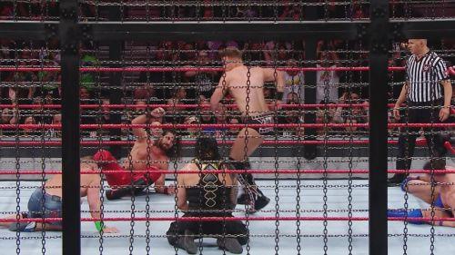The destructive Elimination Chamber match