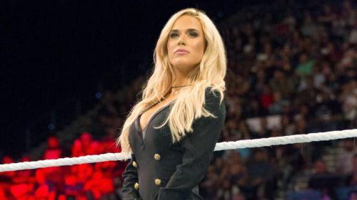 Lana on Raw