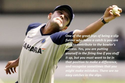 Rahul Dravid has been the best slip-catcher for India in Tests