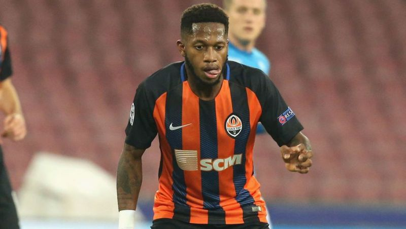 Fred in action for Shaktar Donetsk