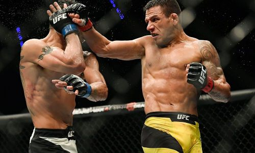 Rafael Dos Anjos has become one of the UFC's most feared strikers