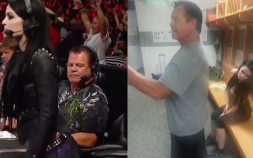 Wwe News Jerry Lawler Recreates Funny Photo With Paige