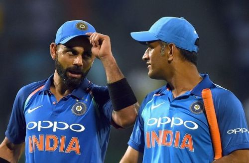 Dhoni and Kohli have both been rested