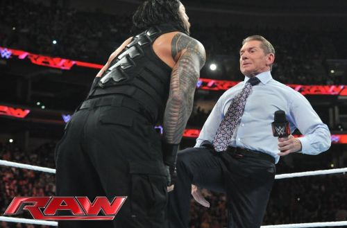 Roman Reigns had words of high praise for Vince McMahon
