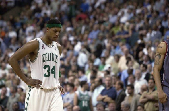 Paul Pierce won an NBA championship with Boston in 2008