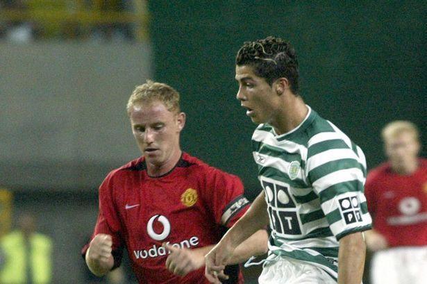 Cristiano Ronaldo impressed against Manchester United in August 2003