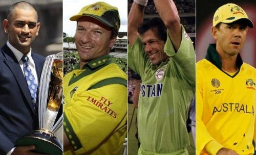 The captains who have made their countries proud