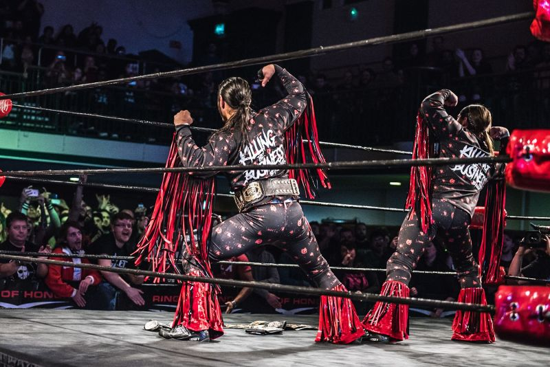 Enhe Young Bucks have called out another WWE tag team