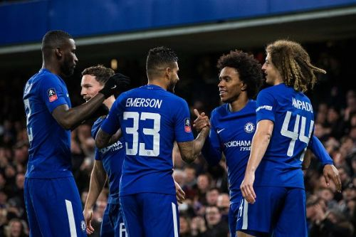 Chelsea have secured their berth in the quarter-finals