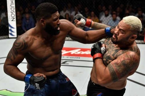 Curtis Blaydes picked up a big win over Mark Hunt