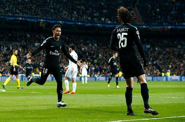 0cfe06f4c Real Madrid v Paris Saint-Germain - UEFA Champions League Round of 16  First