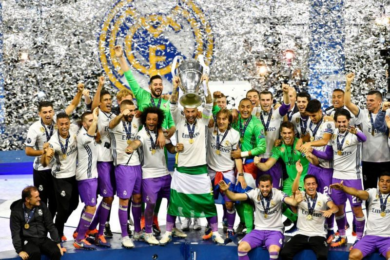Real Madrid became the first team to successfully defend the UCL crown in 2017.