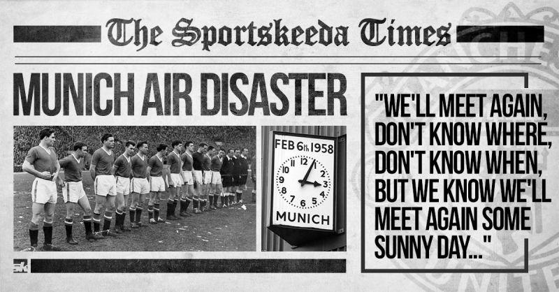 Manchester United Munich 6 February 1958