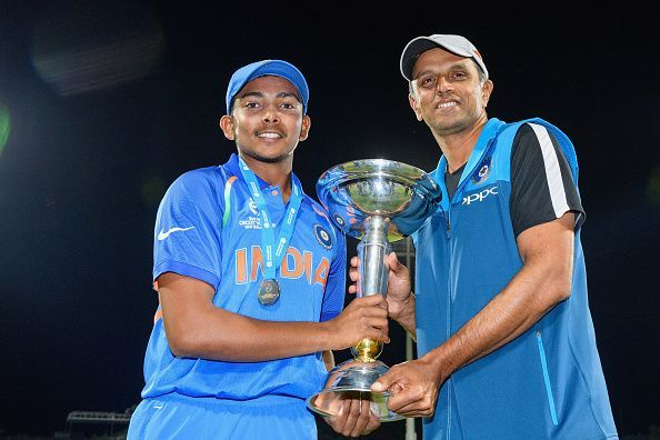 Prithvi Shaw led India U19 team to the World Cup earlier this month