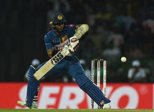 The right-handed batsman provided a blistering start to the Sri Lankan innings