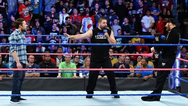 Can Daniel Bryan and Shane McMahon overcome Sami Zayn and Kevin Owens?
