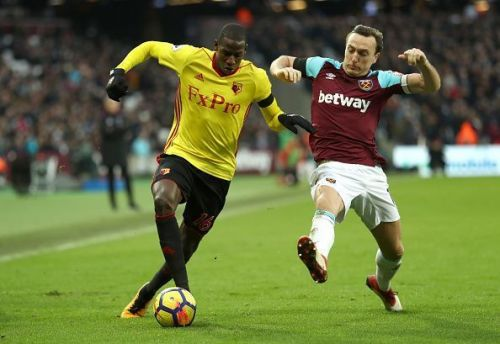 He has been in great form for Watford this season.