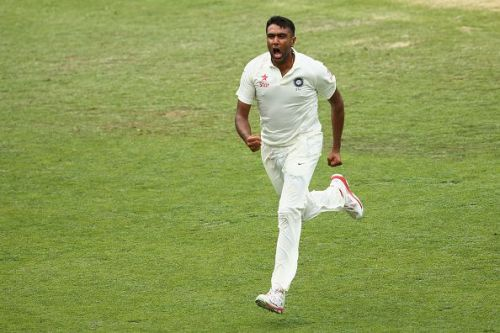 Ashwin has raced to 300 wickets in just 54 matches