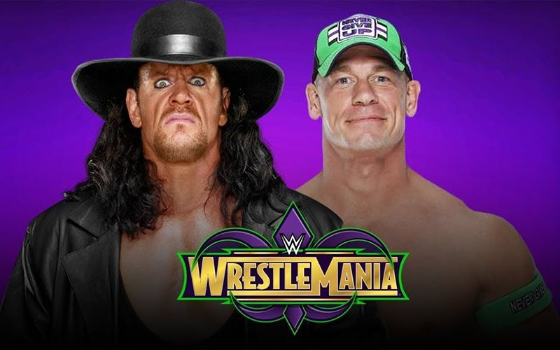 Undertaker Vs John Cena Wrestlemania 30 5 possible stip...