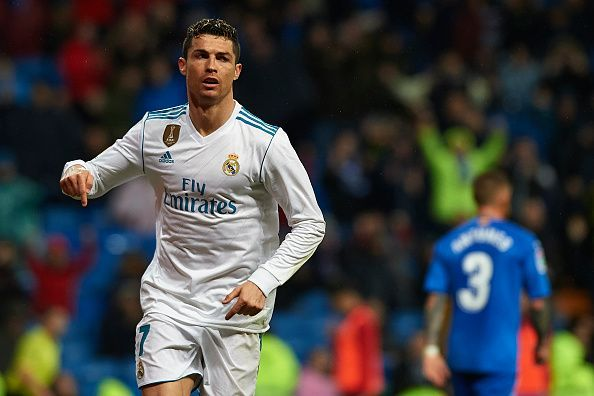 Ronaldo grabbed two goals for himself last night