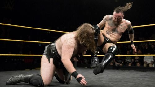 A grisly battle of dark forces entertained the NXT Universe