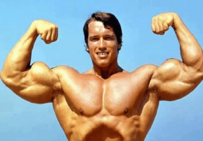 Schwarzenegger was a bodybuilding star